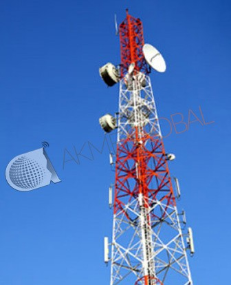 Extensive range of fittings for Communication Tower